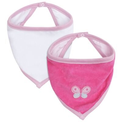 Imagem 1 do produto Pack Babele : 02 Babadores para bebe Bandana atoalhados - Classic for Baby