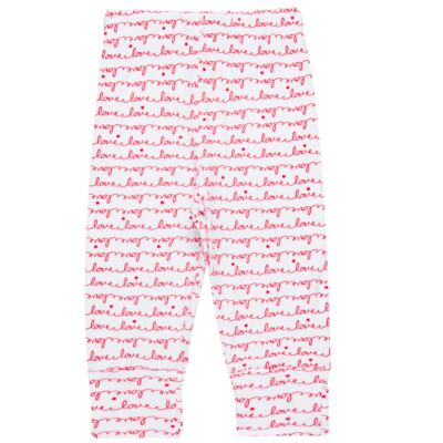 Imagem 3 do produto Body longo com Calça para bebe em algodão egípcio c/ jato de cerâmica e filtro solar fps 50 Sweet Love - Mini & Kids - CS561.256 CONJ BODY ML C/ MIJAO SUEDINE LOVE-P
