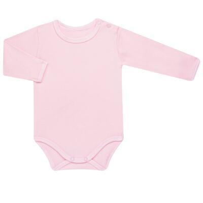 Imagem 2 do produto Body longo com Calça para bebe em algodão egípcio c/ jato de cerâmica e filtro solar fps 50 Pink Little Toys - Mini & Kids - CS621.325 CONJ. BODY ML C/ MIJAO SUEDINE CARNEIRINHOS-RN