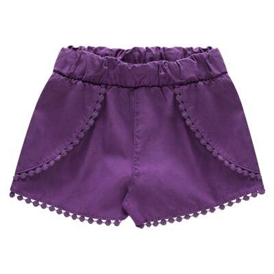Imagem 3 do produto Blusinha c/ Shorts para bebe em cotton Sweety Candy - Charpey - CY20182.101 CONJ BLUSA E SHORT BRANCO-P