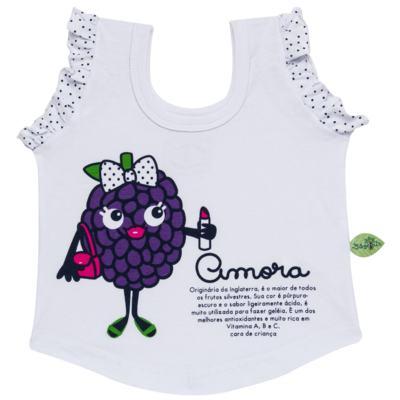 Imagem 2 do produto Baby Doll que Brilha no Escuro Amora - Cara de Criança - B2297 AMORA PJ-BABY DOLL M/MALHA-3