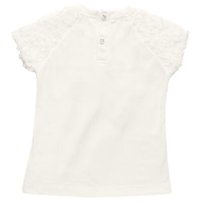 Imagem 3 do produto Blusa com Legging para bebe em cotton Ballerina Camelli - Charpey - WHITE -GG