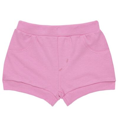 Imagem 5 do produto Body curto com Shorts para bebe em algodão egípcio c/ jato de cerâmica e filtro solar fps 50 L'Hortensia - Mini & Kids - HORTÊNCIAS-GG