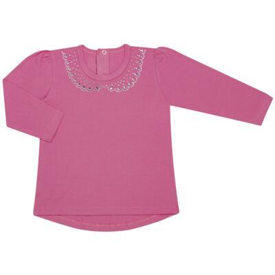 Imagem 1 do produto Blusinha mullet em cotton Pink - Missfloor - COTTON-2