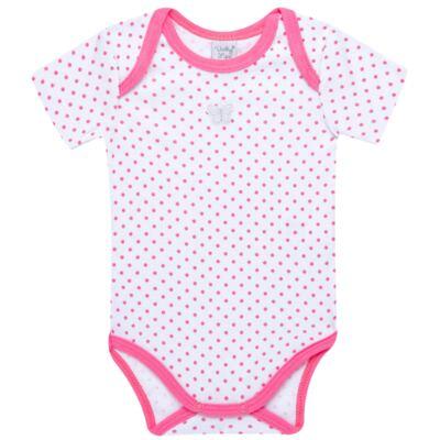 Imagem 1 do produto Body curto para bebe em high comfort Borboletinha - Vicky Lipe - ROSA-G