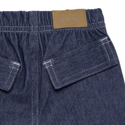 Imagem 2 do produto Bermuda em fleece Basic Denim - Mini & Kids - VERDE-M