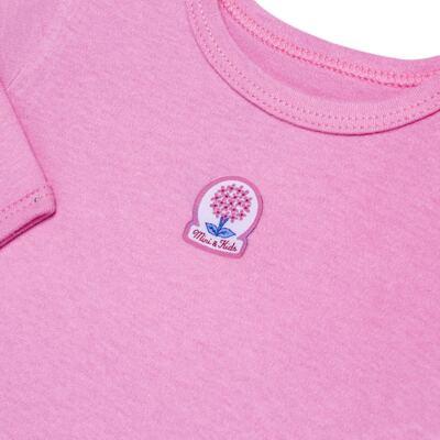 Imagem 3 do produto Body curto com Calça em algodão egípcio c/ jato de cerâmica e filtro solar fps 50 L'Hortensia - Mini & Kids - HORTÊNCIAS-GG