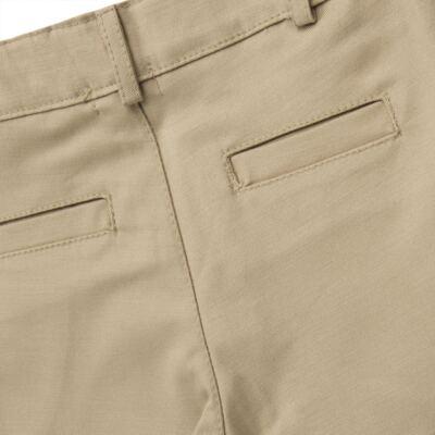 Imagem 8 do produto Body Camisa c/ Calça & Suspensório para bebe em tricoline Xadrez - Roana - Bege -RN