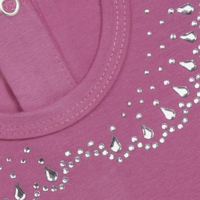 Imagem 2 do produto Blusinha mullet em cotton Pink - Missfloor