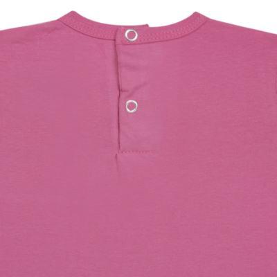 Imagem 3 do produto Blusinha mullet em cotton Pink - Missfloor
