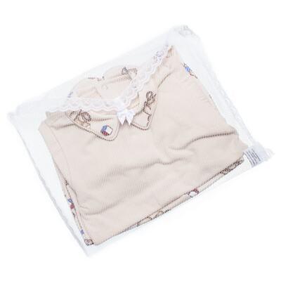 Imagem 7 do produto Body com Mijão em algodão egípcio Baby Toys - Roana - BM000887005 BODY C MIJAO 666 BEGE-G
