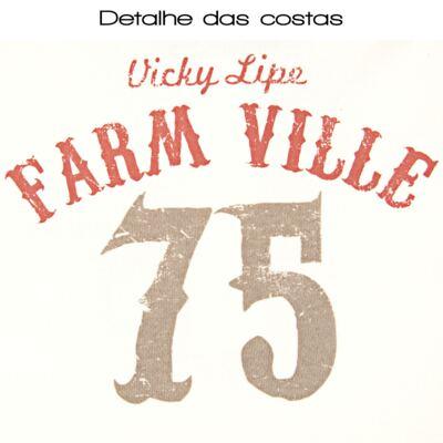 Imagem 3 do produto Blusa polo com Calça em suedine Farm Ville - Vicky Lipe - 8231579 CONJ.PÓLO M/L C/ CALÇA SUEDINE FAZENDINHA-G