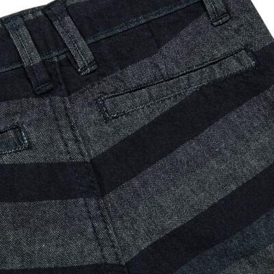 Imagem 5 do produto Bermuda para bebe Striped Jeans - Reserva Mini - RM23230 BERMUDA BB CASUAL AVESSO-G