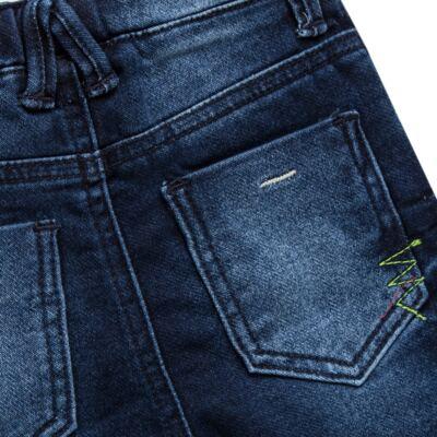 Imagem 3 do produto Bermuda para bebe Jeans  - Reserva Mini - RM25434 BERMUDA BB JEANS DETALHE-M