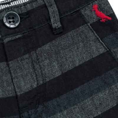 Imagem 2 do produto Bermuda para bebe Striped Jeans - Reserva Mini - RM23230 BERMUDA BB CASUAL AVESSO-1