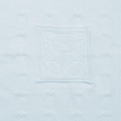 Imagem 2 do produto Manta para bebe em tricot Prince Bear - Mini & Classic