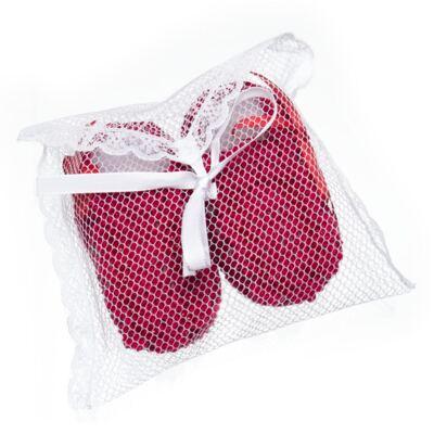 Imagem 4 do produto Sapatinho para bebe em tricot Vermelho - Roana