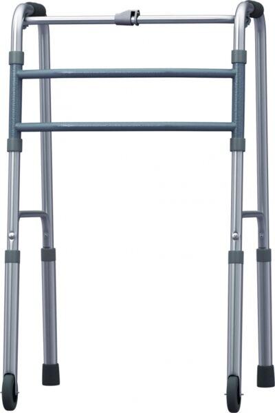 Imagem 1 do produto Andador Fixo Dobravel De Aluminio Com Rodas Bc1520 Mercur