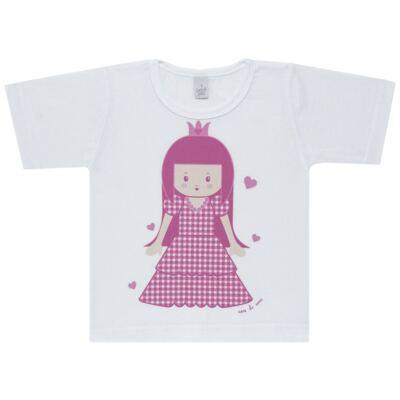 Imagem 2 do produto Pijama Curto em malha Princesinha - Cara de Sono