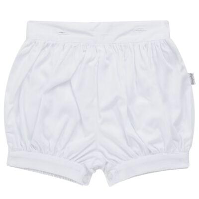 Imagem 5 do produto Camisa Colete, Shorts e Boné em tricoline Branco - Sylvaz - SZ273 Conjunto Curto Colete Batizado Branco-G