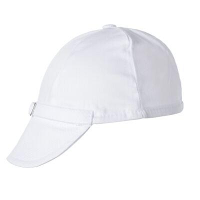 Imagem 7 do produto Camisa Colete, Shorts e Boné em tricoline Branco - Sylvaz - SZ273 Conjunto Curto Colete Batizado Branco-G