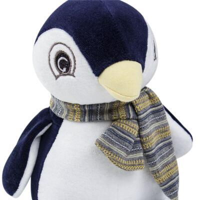 Imagem 3 do produto Kit: Bichinho Chocalho + Naninha Chocalho para bebe Pinguim - Anjos Baby