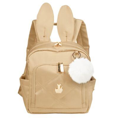Imagem 1 do produto Mochila maternidade Bunny Classic Ouro - Masterbag