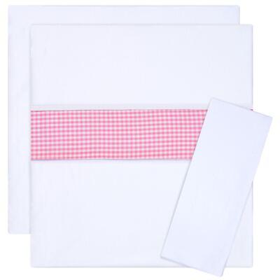 Imagem 1 do produto Jogo de lençol para carrinho em malha Le Petit Rosa - Classic for Baby