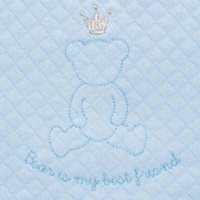 Imagem 3 do produto Porta Roupinhas para Maternidade Azul Matelassê - Grow Up