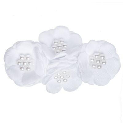 Imagem 1 do produto Presilha Bouquet & Pérolas Branca - Roana