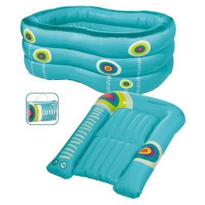 Imagem 1 do produto Banheira e Trocador Inflável (0m+) - Bébé Confort