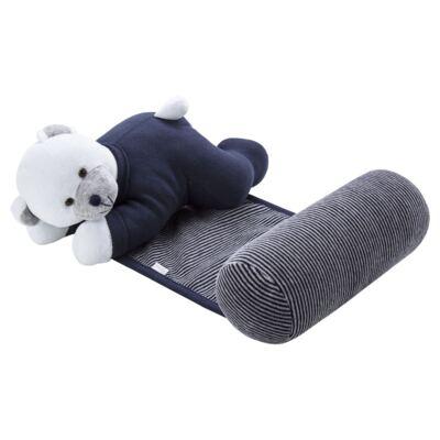 Imagem 4 do produto Kit: Protetor de Pescoço + Segura nenê para bebe Ursinho - Anjos Baby