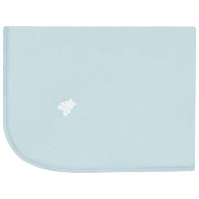 Imagem 1 do produto Manta em Pima Cotton Supreme Urso Prime Azul - Mini & Kids