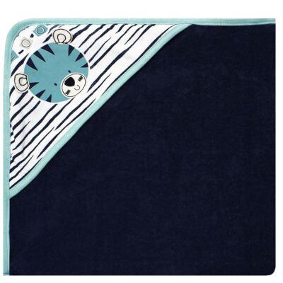 Imagem 1 do produto Toalha com capuz atoalhado Tigrinho - Classic for Baby