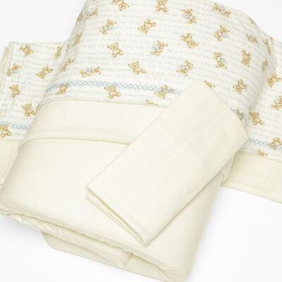 Imagem 3 do produto Colchão para carrinho em malha Maternity Blue Bear - Classic for Baby