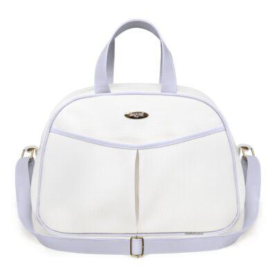 Imagem 2 do produto Kit Bolsa maternidade para bebe + Frasqueira Branco/Azul Unique - Classic for Baby Bags