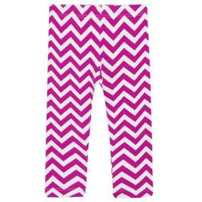 Imagem 2 do produto Legging c/ Faixa de cabelo para bebe em lycra Chevron Pink - Letiti - LTT03 LEGGING FAIXA LUMA PINK-M