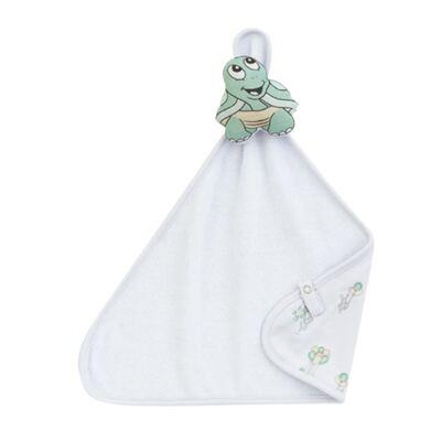 Imagem 1 do produto Naninha para bebe atoalhada Little Turtle - Dedeka