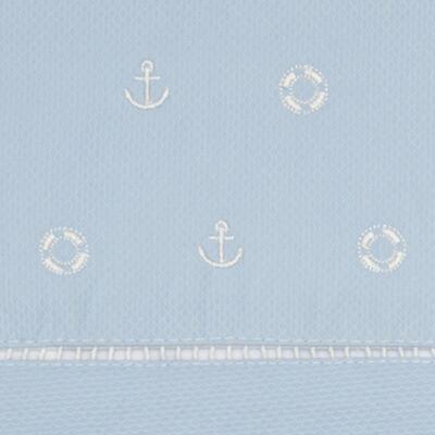 Imagem 2 do produto Jogo de lençol para carrinho em malha Sailor - Classic for Baby