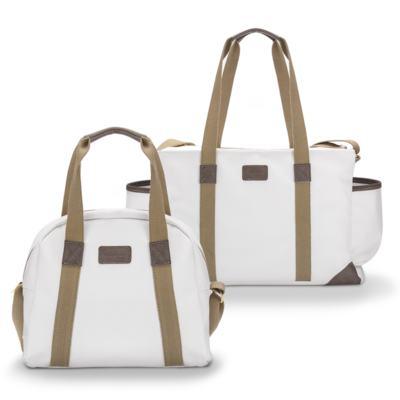 Imagem 1 do produto Bolsa + Frasqueira para bebe Off White - Masterbag
