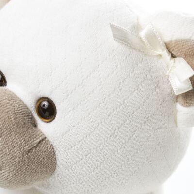 Imagem 3 do produto Kit: Bichinho Chocalho + Protetor de Pescoço para bebe Ursinha - Anjos Baby