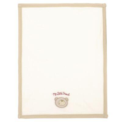 Imagem 2 do produto Kit com 3 fraldinhas de boca em malha Friend Bear - Classic for Baby