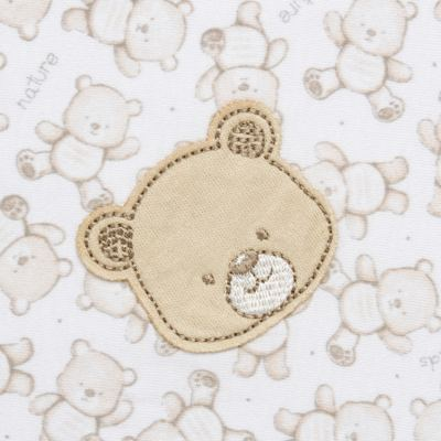 Imagem 2 do produto Manta para bebe em algodão egípcio c/ jato de cerâmica Nature Little Friends - Mini & Classic