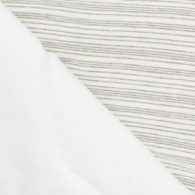 Imagem 2 do produto Edredom para berço em suedine Green Stripes - Anjos Baby