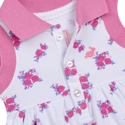 Imagem 3 do produto Vestido Polo com Calcinha para bebe em piquet Mimme - Missfloor - 18BC0001.505 BATA POLO REGATA C/ CALCINHA - PIQUET-2