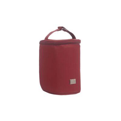 Imagem 5 do produto Mala maternidade + Bolsa + Frasqueira térmica + Porta Mamadeira Laço Vermelho - Hey Baby