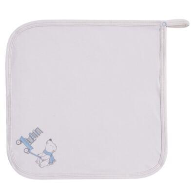 Imagem 3 do produto Kit com 3 fraldinhas de boca para bebe em malha Smart Bear - Dedeka