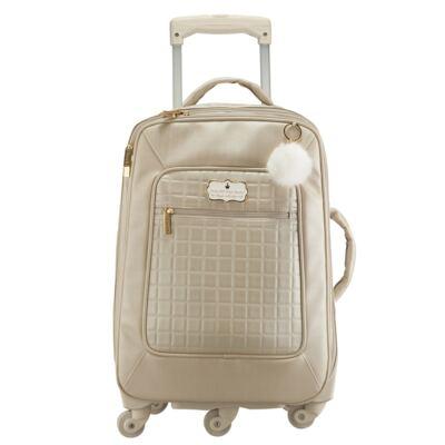Imagem 1 do produto Mala Maternidade com rodízio Bunny Ouro - Masterbag