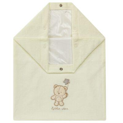 Imagem 1 do produto Saco para roupa suja atoalhado Nature Cute Bear - Classic for Baby