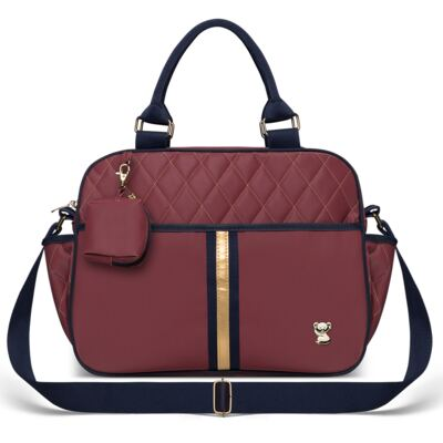 Imagem 1 do produto Bolsa Maternidade para bebe Natus Bordô - Classic for Baby Bags